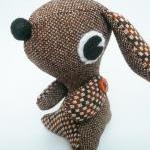 Stuffed animal puppy dog - Brown Vi..