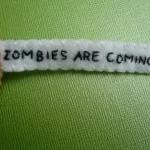 Zombie Fortune Cookie - Funny Ornam..