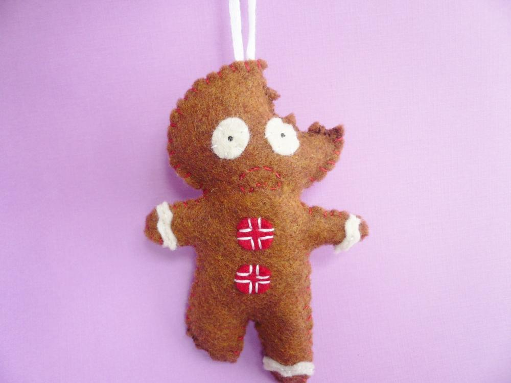 Gingerbread Man ornament, funny Christmas ornaments