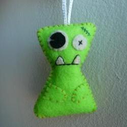 Plush Monster ornament